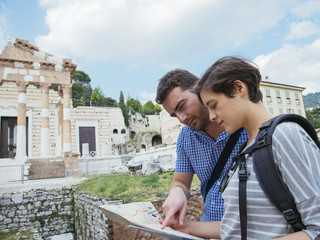 tourist map italy
