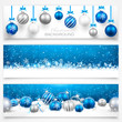 Collection of Christmas banners. Vector