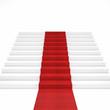 red carpet stair