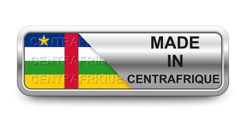 Made in Centrafrique Button