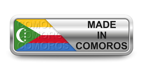 Made in Comoros Button
