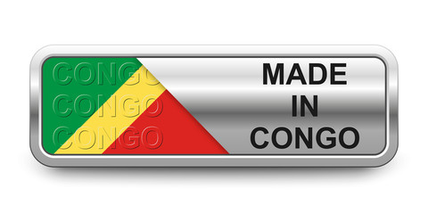 Made in Congo Button
