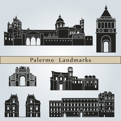 Palermo landmarks and monuments