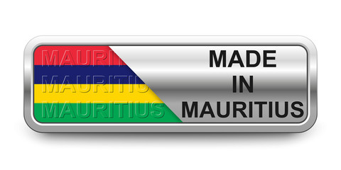 Made in Mauritius Button