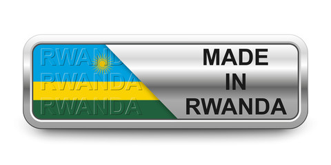 Made in Rwanda Button