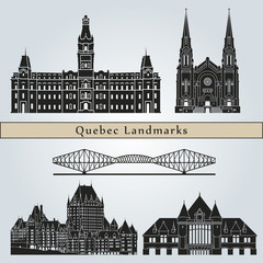 Quebec landmarks and monuments