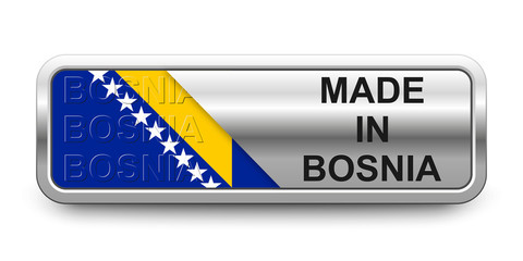 Made in Bosnia Button