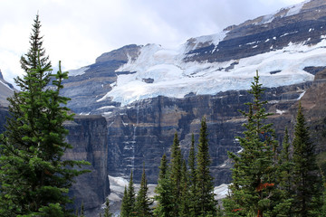 Mount Victoria in Banff National Park