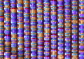 Декоративный фон.Цветные столбики.
