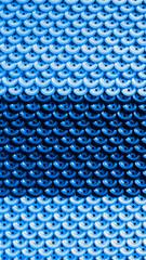 Декоративный голубой фон из пуговиц.