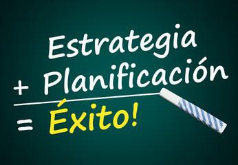 Estrategia, Planificación, Éxito