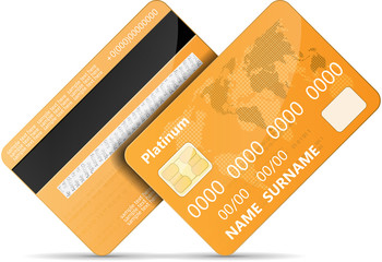 Orange credit card