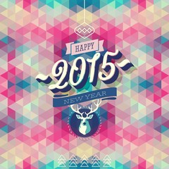 """""""New Year"""" Poster."""
