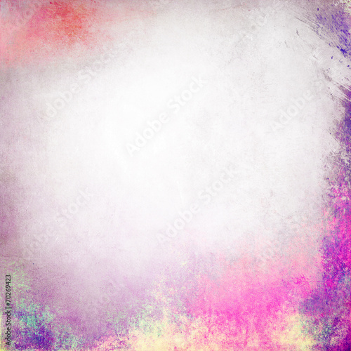 Multicolored grunge background texture © malydesigner
