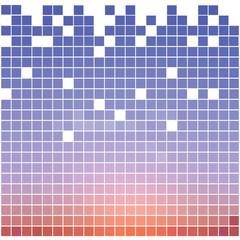square pixel mosaic