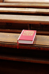 hymnbook religion scene