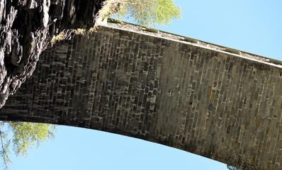 pont sur les gorges de viamala