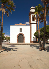 Inland Fuerteventura, church in Antigua