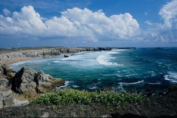 costa selvaggia riserva naturale penisola di quiberon bretagna