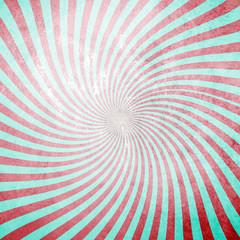 Grunge retro swirl sunburst background