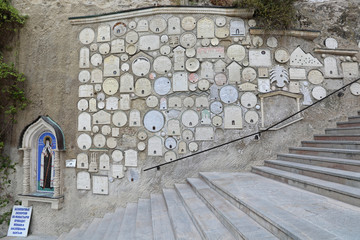 Cve monastery wall, Bakhchisaray, Crimea
