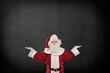 Santa Claus is presenting ...