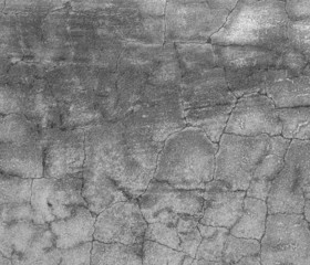 Old concrete wall with cracks.