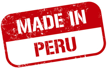 made in peru stamp