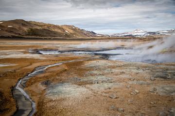 Icelandic Geothermal Area