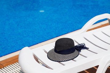 summertime with hat