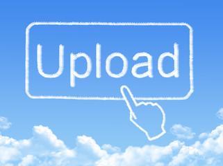 Upload message cloud shape