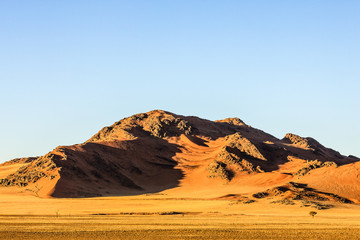 Sanddünen der Namib