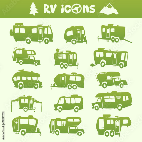 Recreational Vehicle set - 70277091