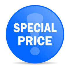special price internet blue icon