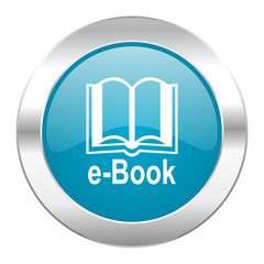 book internet blue icon