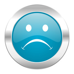cry internet blue icon