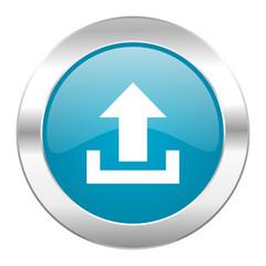 upload internet blue icon