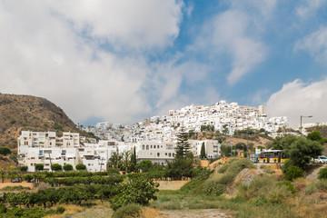 Vista de Mojacar, Almería, España