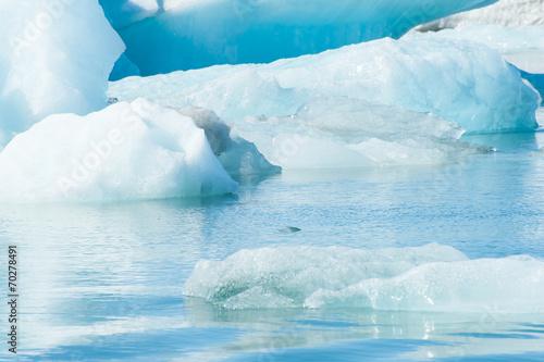 Foto op Aluminium Gletsjers Glacier lake