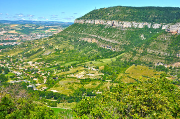 Valle del Tarn, Aveyron, Francia, naturaleza, medioambiente