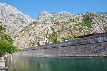 Tivat city wall