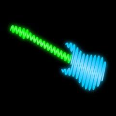 leuchtreklame gitarre II