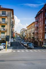 Strada centro Pisa, Via Francesco Crispi
