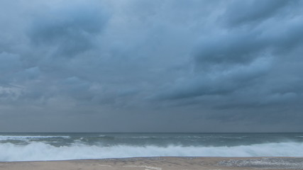 Storm Clouds at the beach