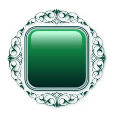 Dairesel süs  ( Yeşil )