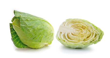 cabbage isolated on whith background