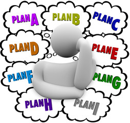 Plan A B C Different Change Strategies Try Again