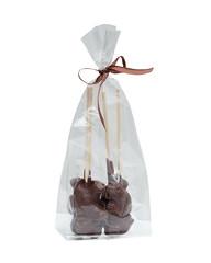 Image of gift bag with chocolate figurines
