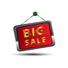 Big sale icon vector