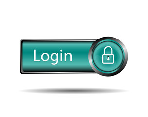 Login button sign